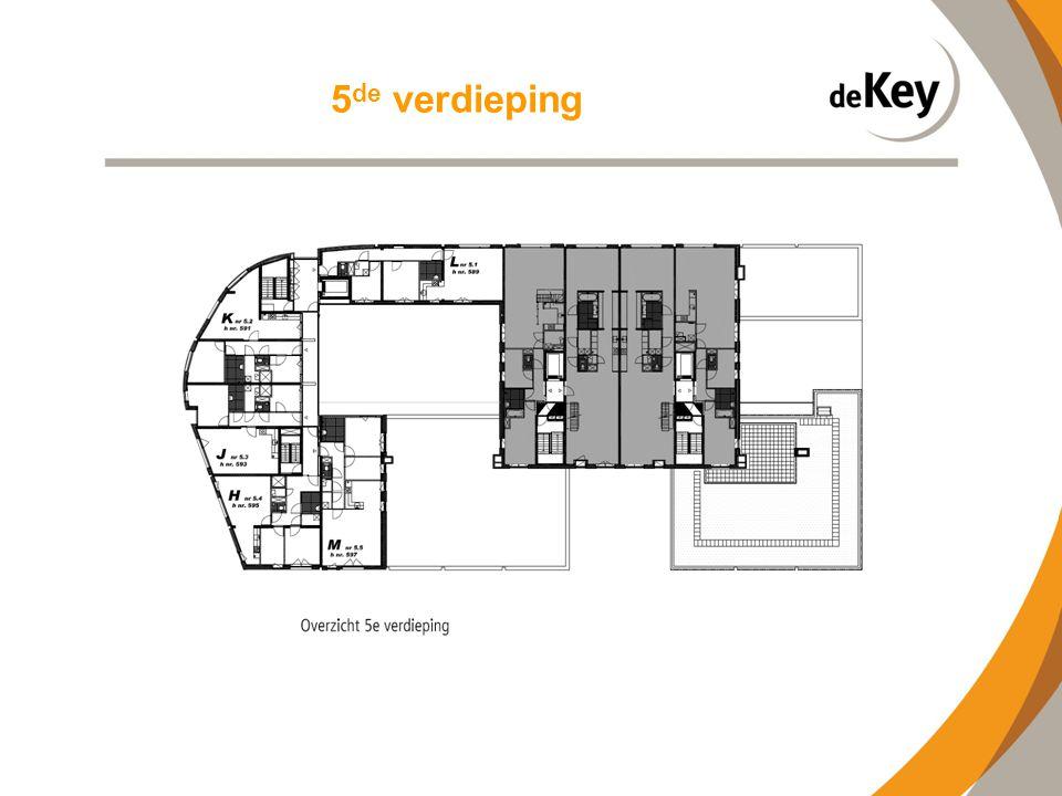 5de verdieping
