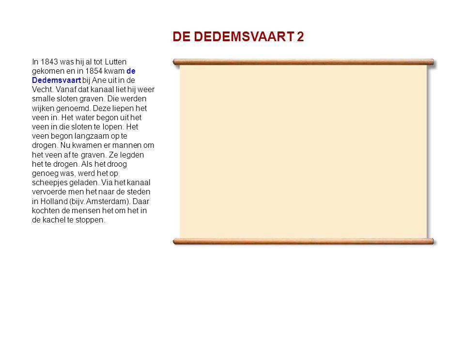 DE DEDEMSVAART 2