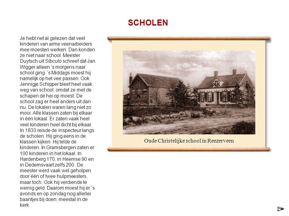 Oude Christelijke school in Reezerveen