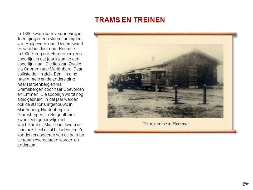 TRAMS EN TREINEN Tramremise in Heemse