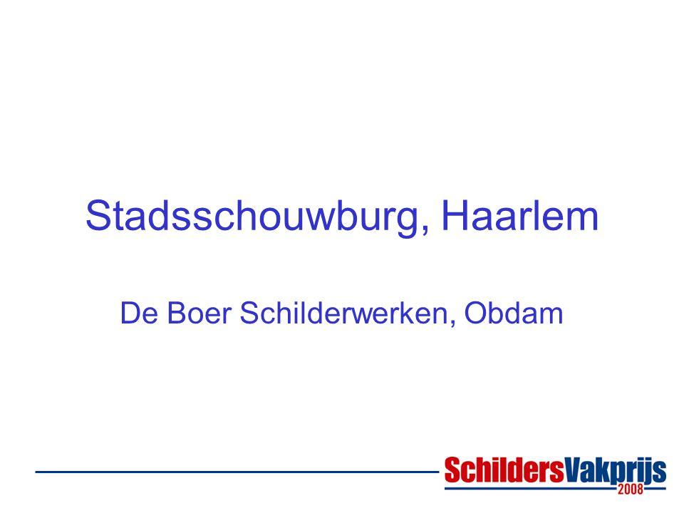 Stadsschouwburg, Haarlem