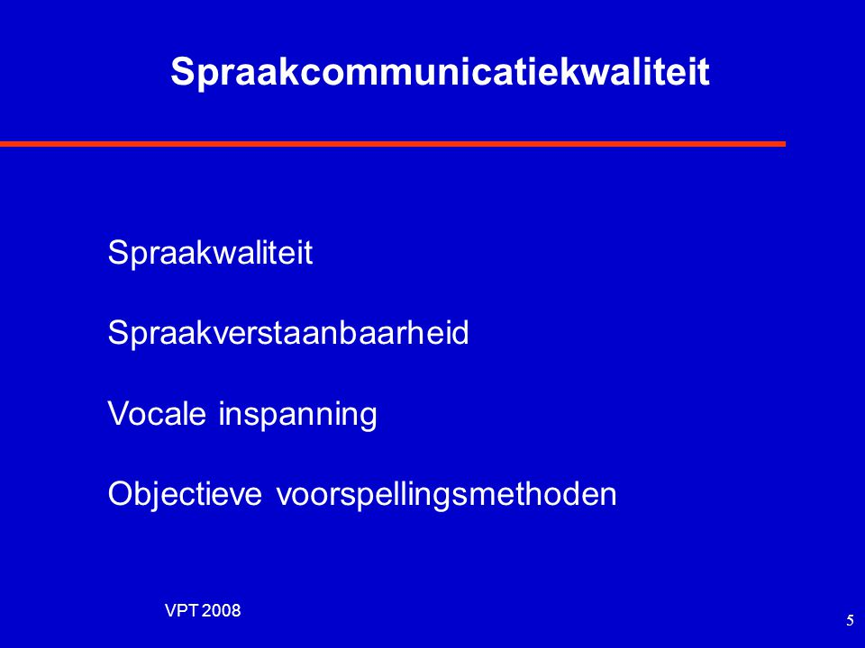 Spraakcommunicatiekwaliteit