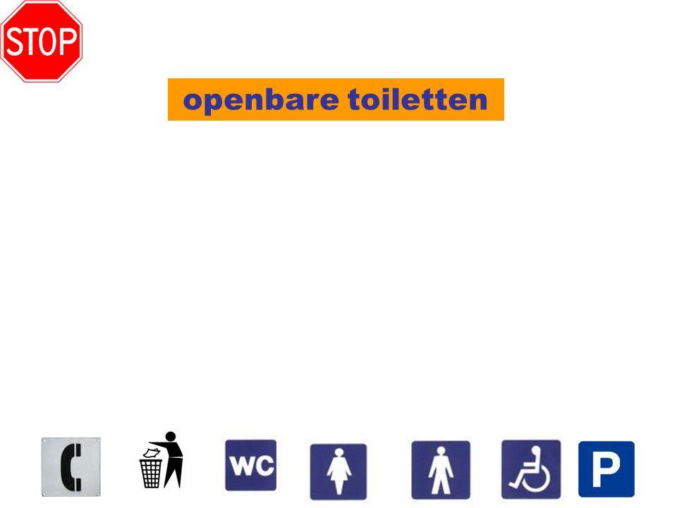 openbare toiletten