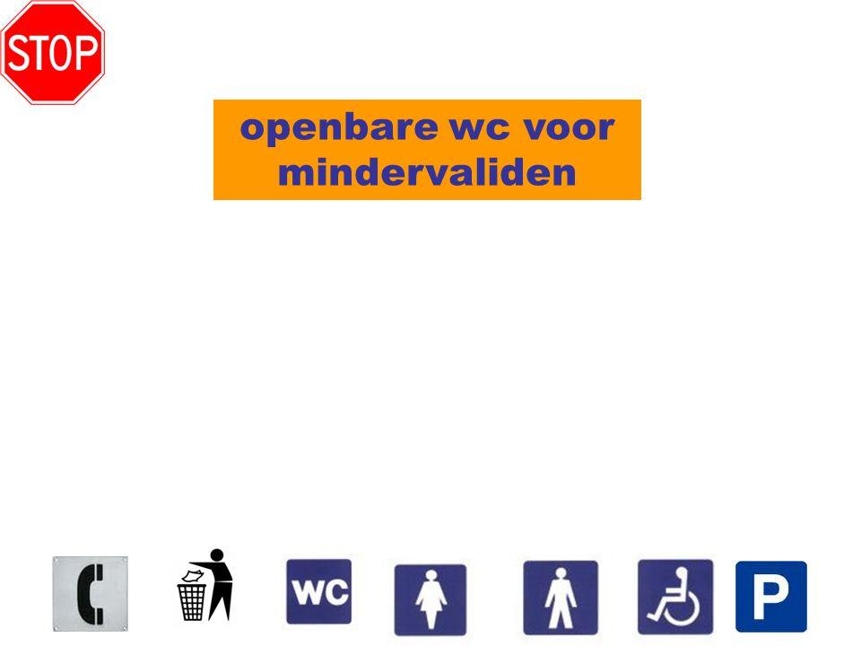 openbare wc voor mindervaliden