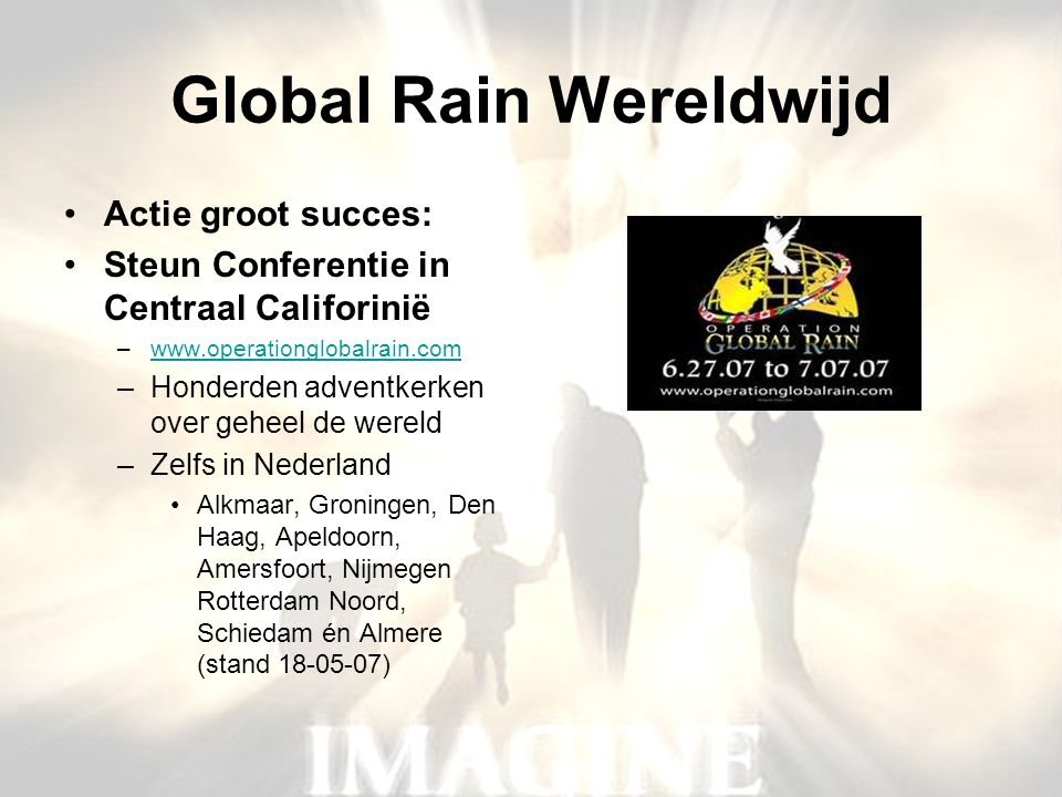 Global Rain Wereldwijd