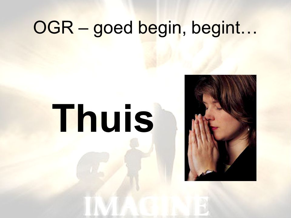 OGR – goed begin, begint…