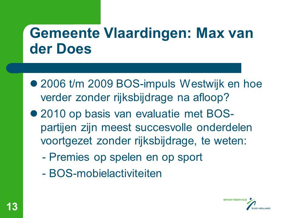 Gemeente Vlaardingen: Max van der Does