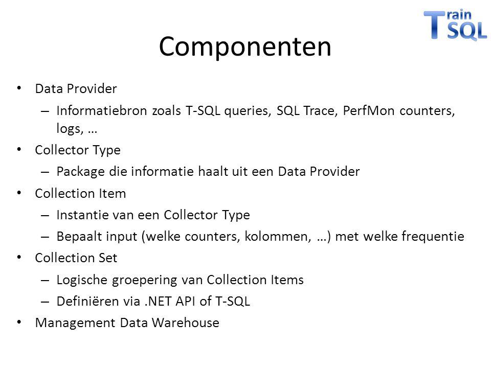 Componenten Data Provider