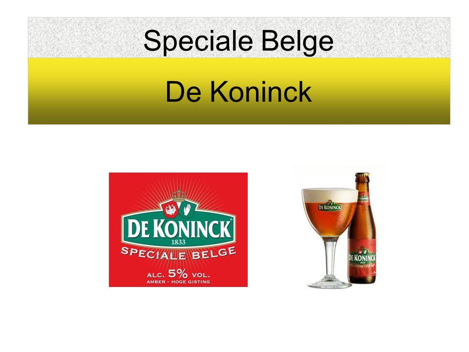 Speciale Belge De Koninck