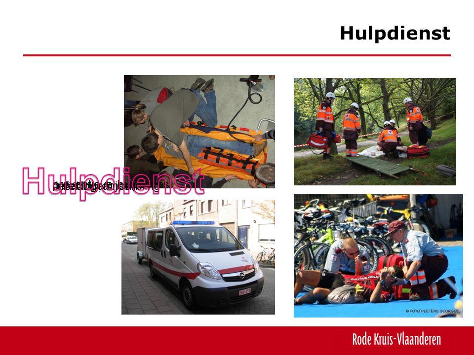 Hulpdienst Hulpdienst preventieve hulpacties oefeningen