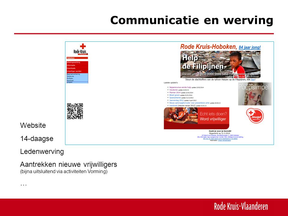 Communicatie en werving
