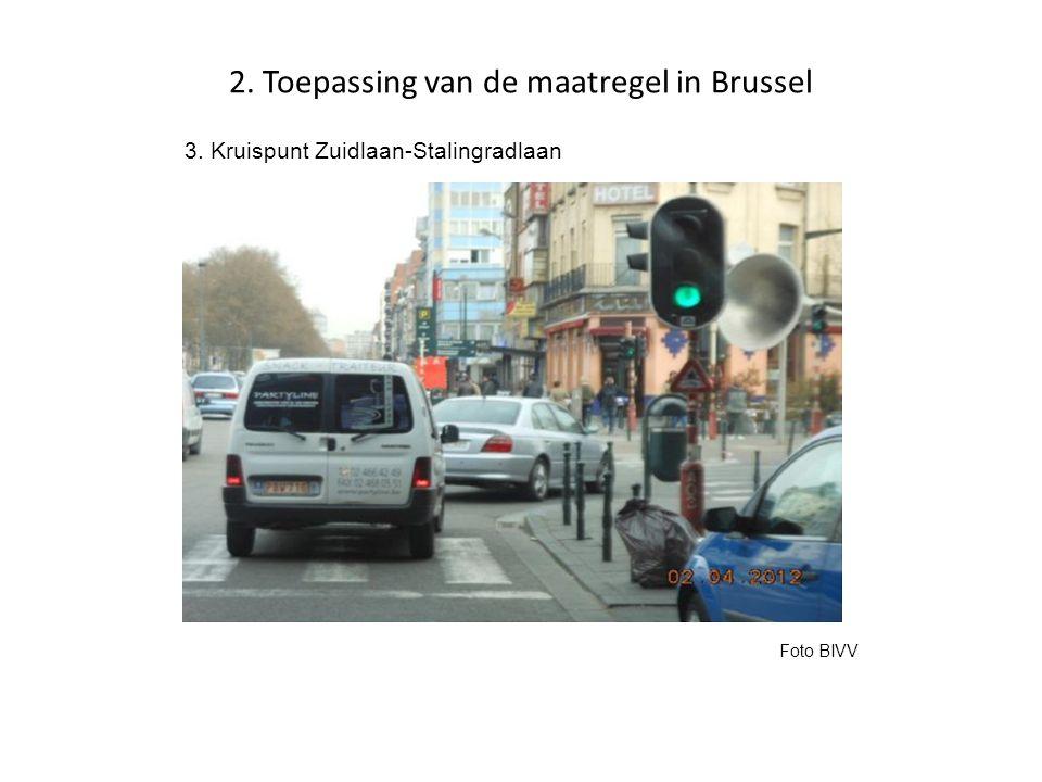 2. Toepassing van de maatregel in Brussel