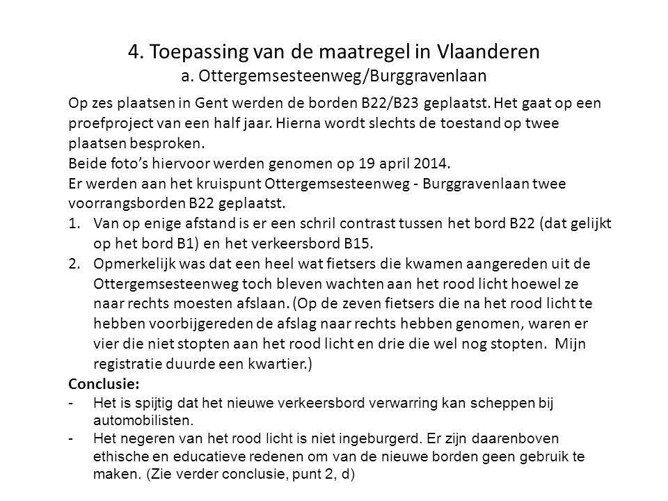 4. Toepassing van de maatregel in Vlaanderen a