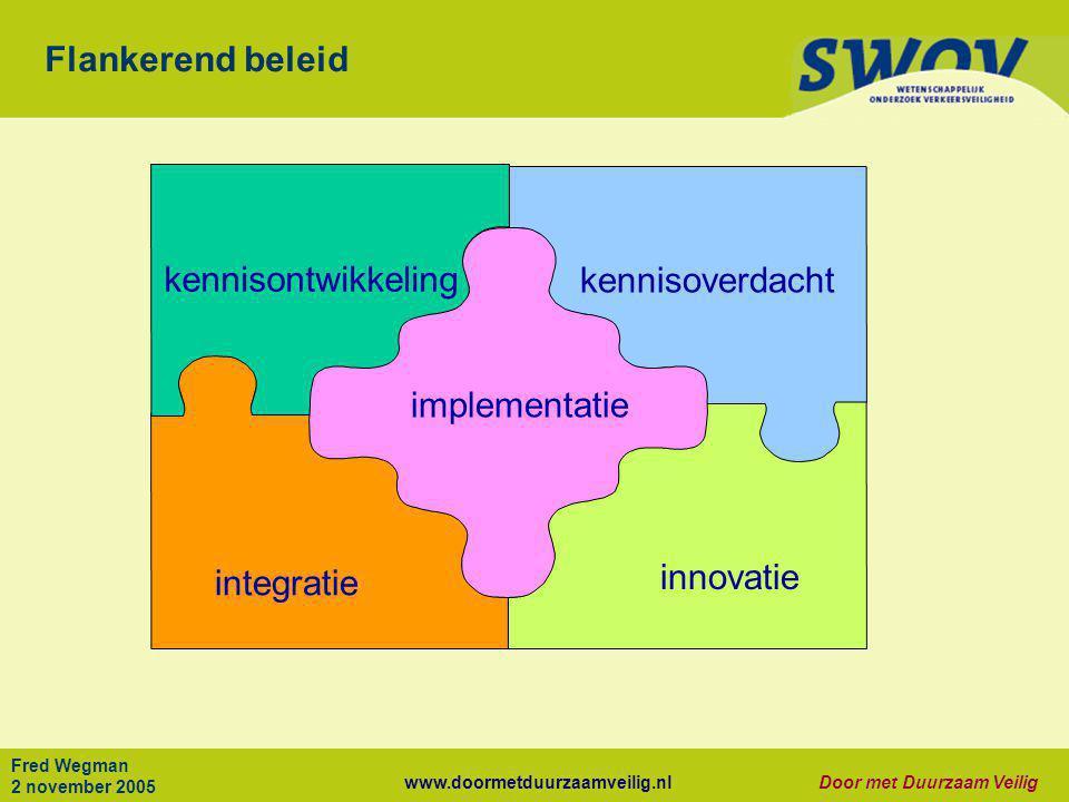 Flankerend beleid kennisontwikkeling kennisoverdacht implementatie