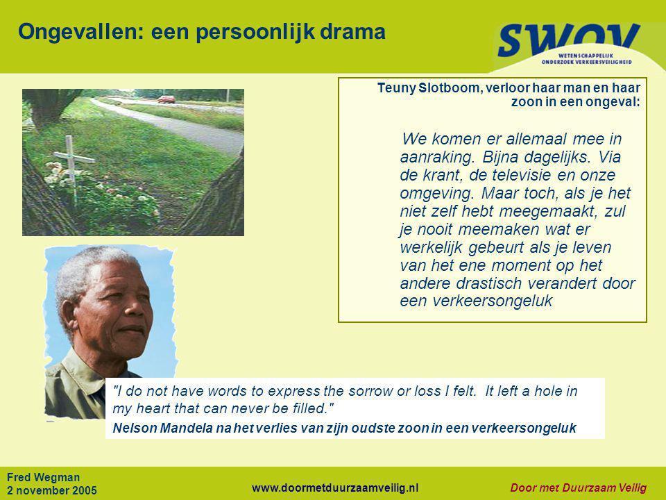 Ongevallen: een persoonlijk drama