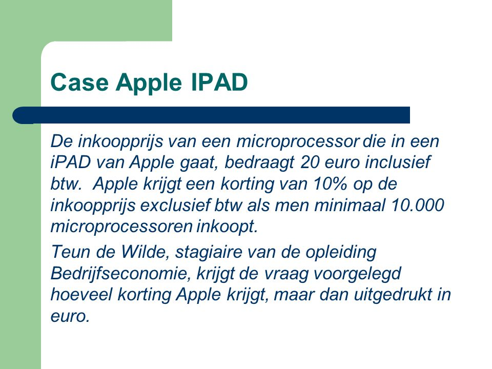 Case Apple IPAD