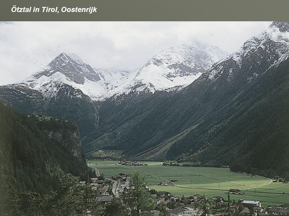 Ötztal in Tirol, Oostenrijk