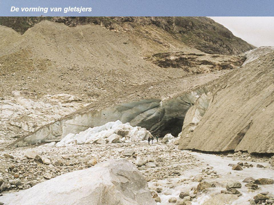 De vorming van gletsjers