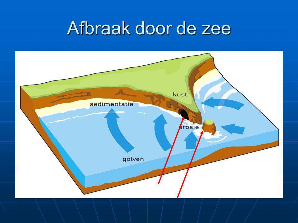 Afbraak door de zee