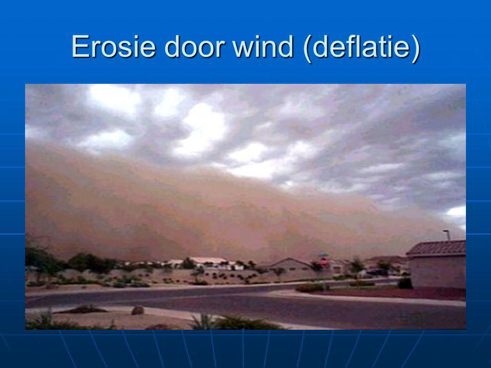 Erosie door wind (deflatie)