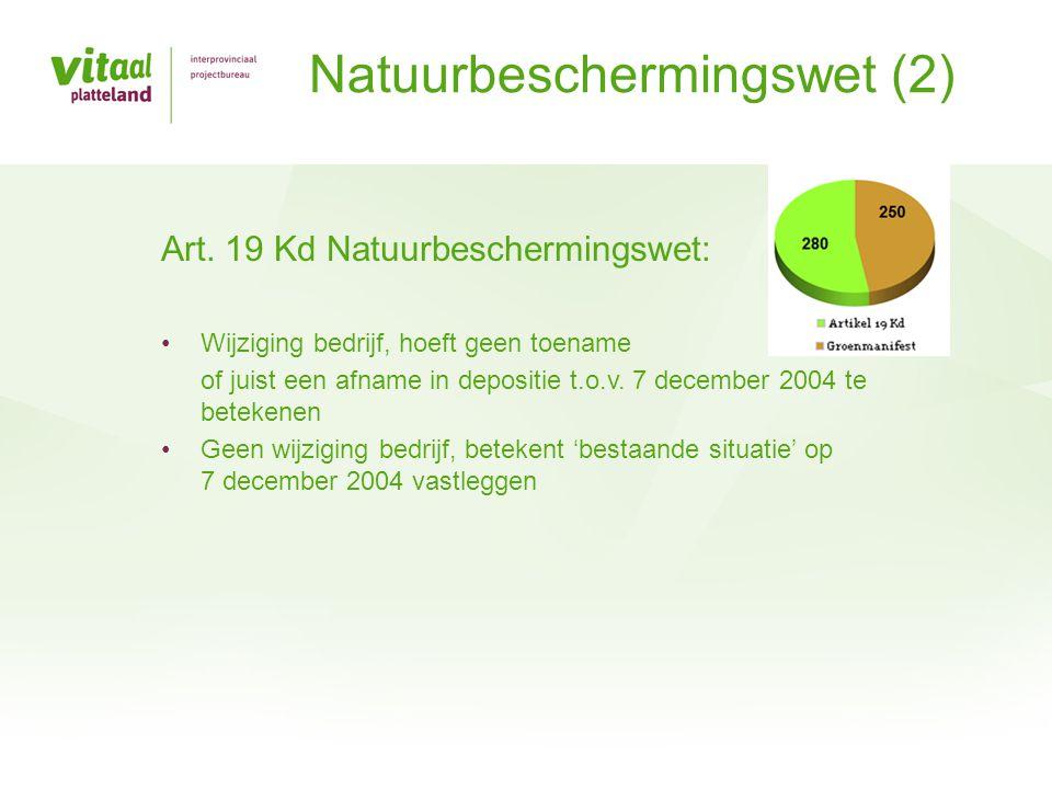 Natuurbeschermingswet (2)