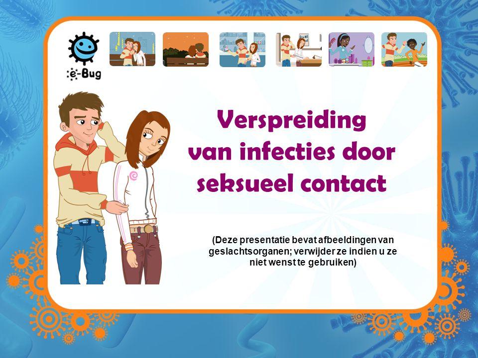 Verspreiding van infecties door seksueel contact