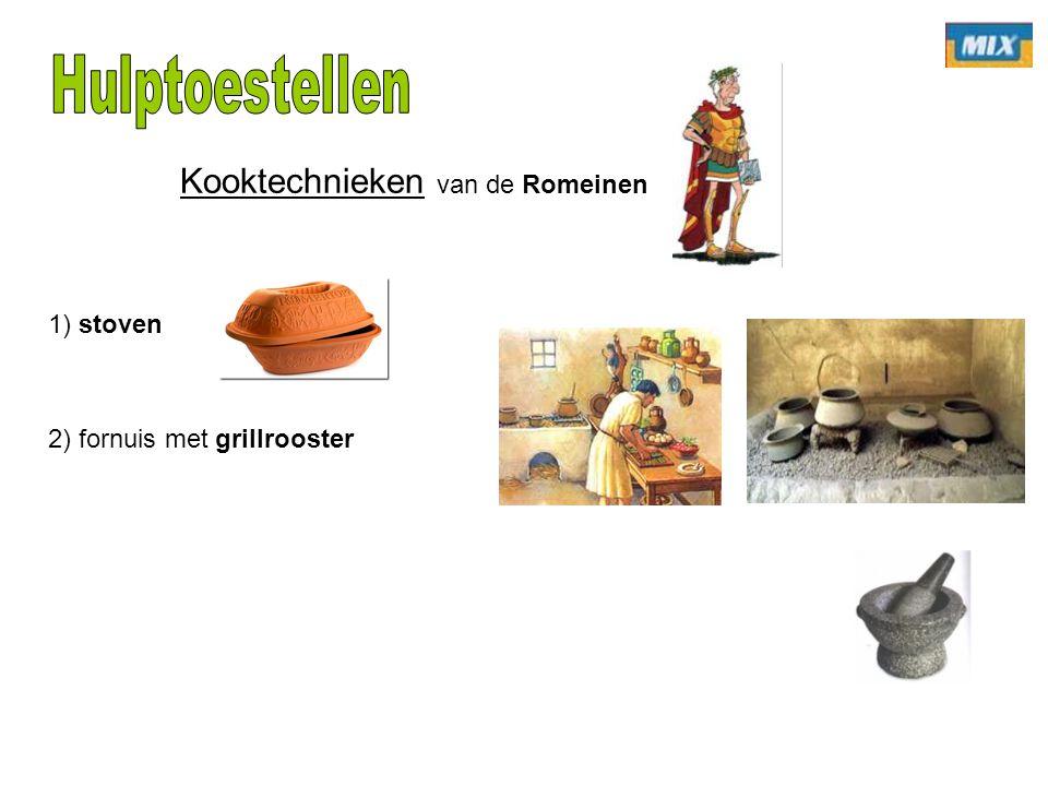 Kooktechnieken van de Romeinen