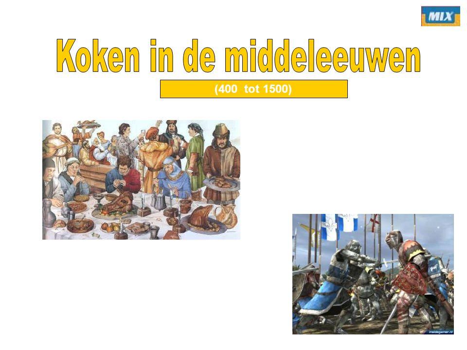 Koken in de middeleeuwen