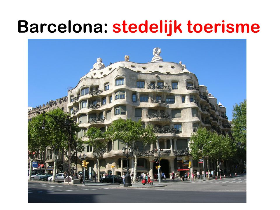 Barcelona: stedelijk toerisme