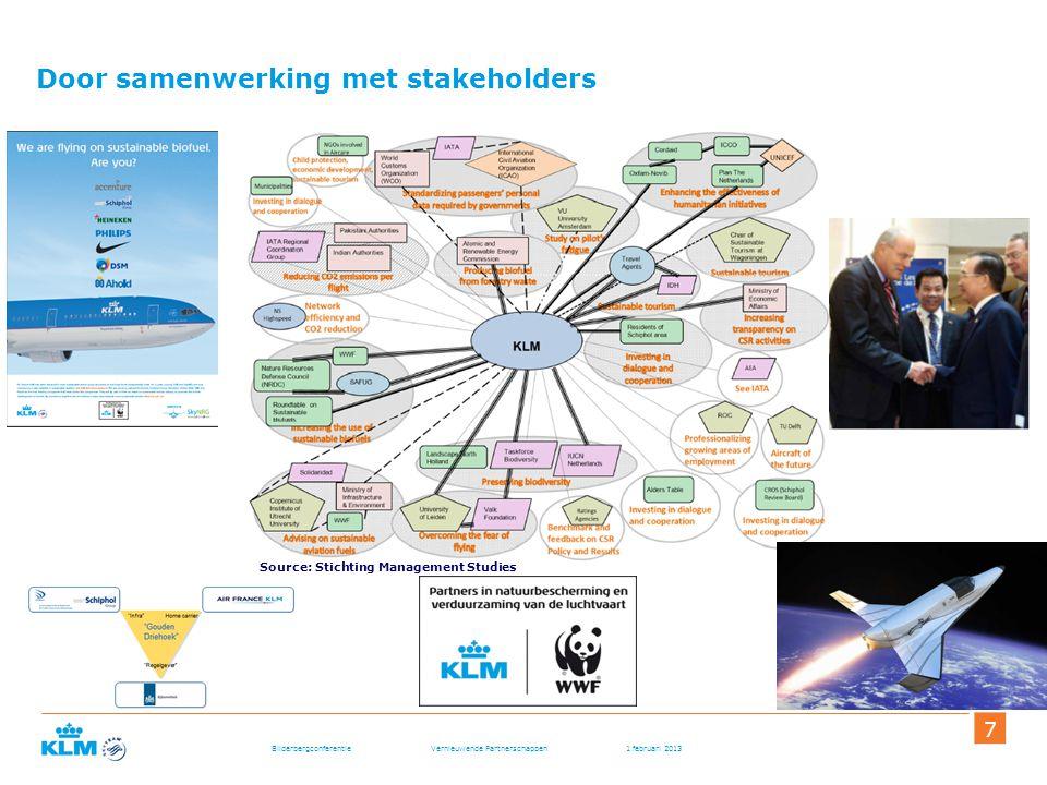 Door samenwerking met stakeholders