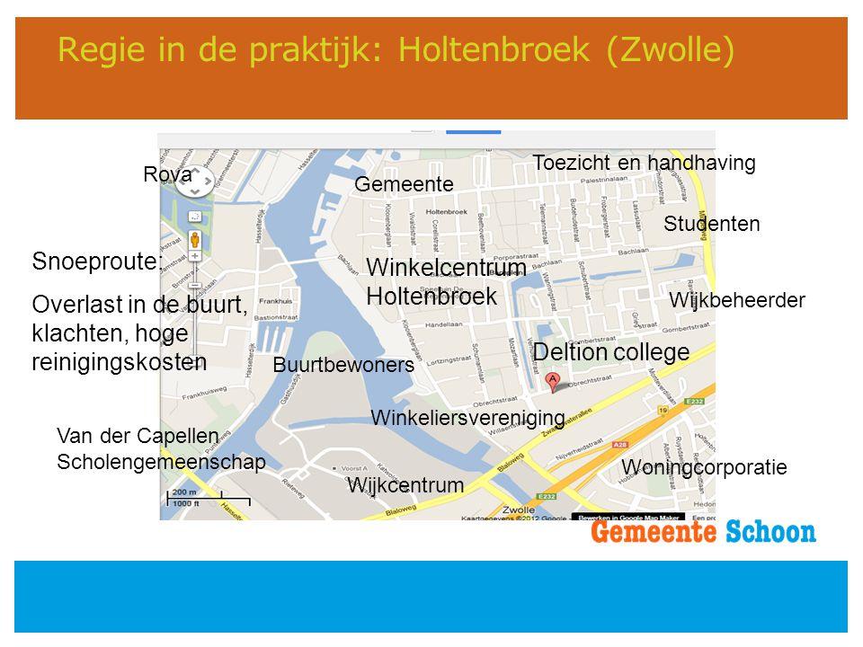 Regie in de praktijk: Holtenbroek (Zwolle)
