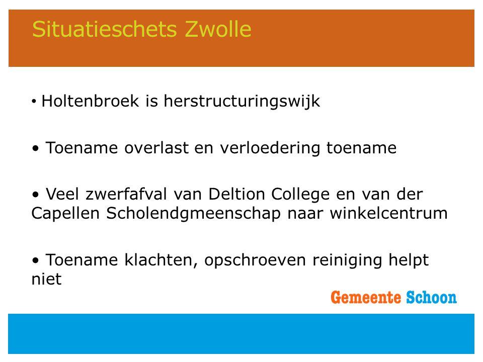 Situatieschets Zwolle