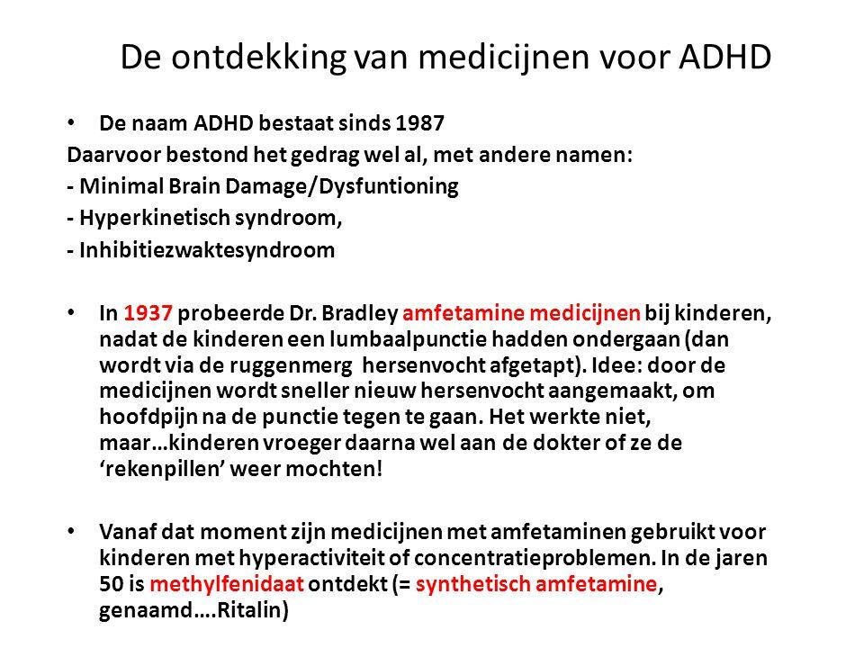 De ontdekking van medicijnen voor ADHD