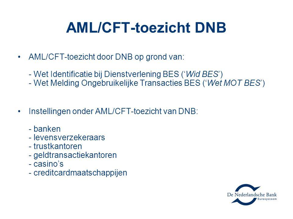 AML/CFT-toezicht DNB