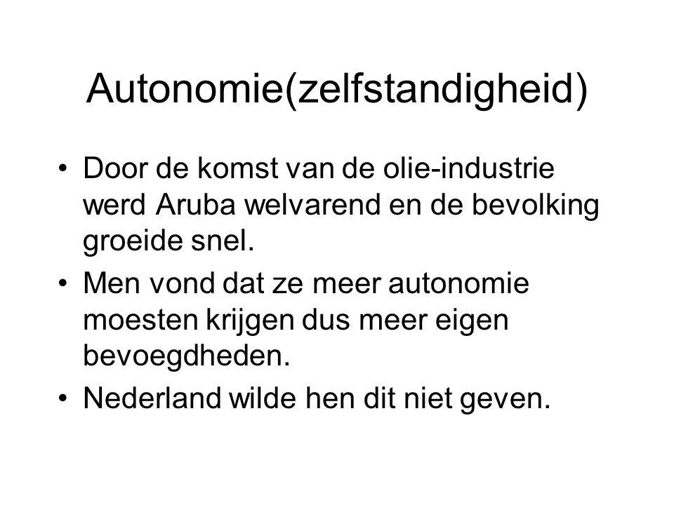 Autonomie(zelfstandigheid)