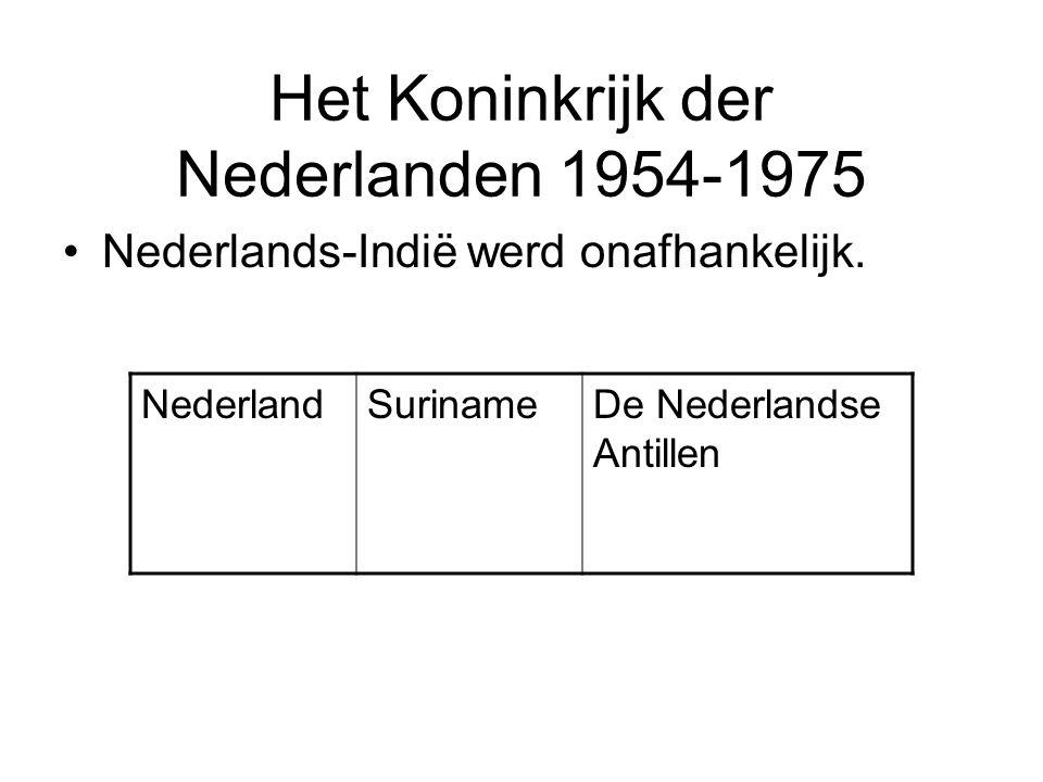 Het Koninkrijk der Nederlanden 1954-1975