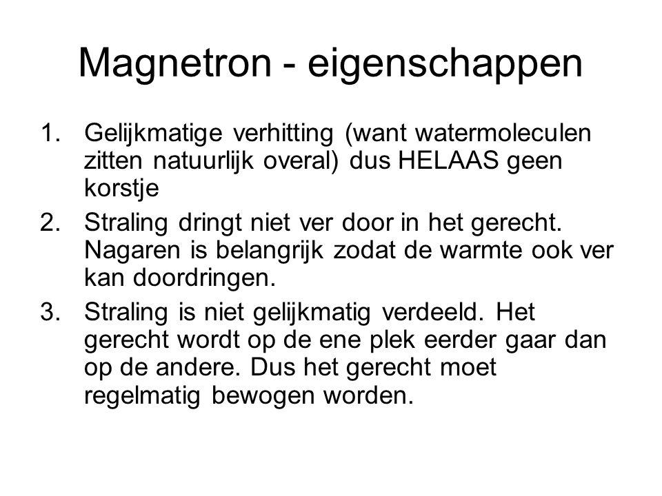 Magnetron - eigenschappen