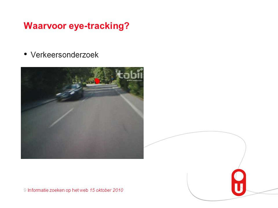 Waarvoor eye-tracking