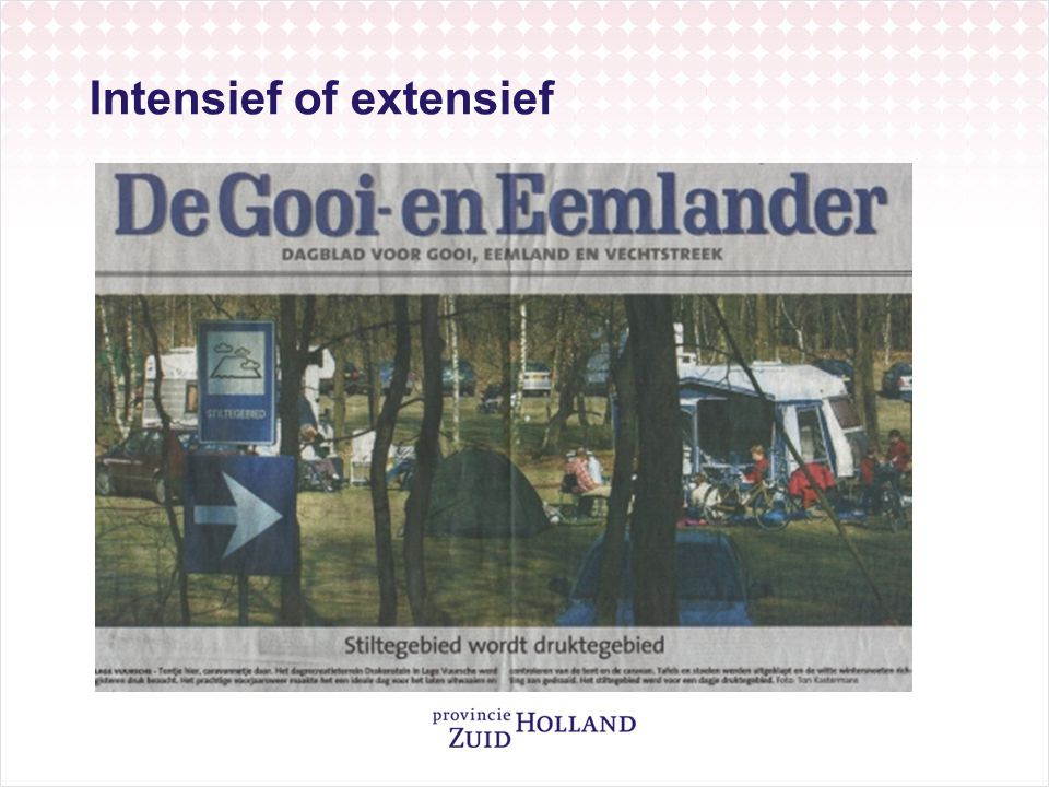 Intensief of extensief