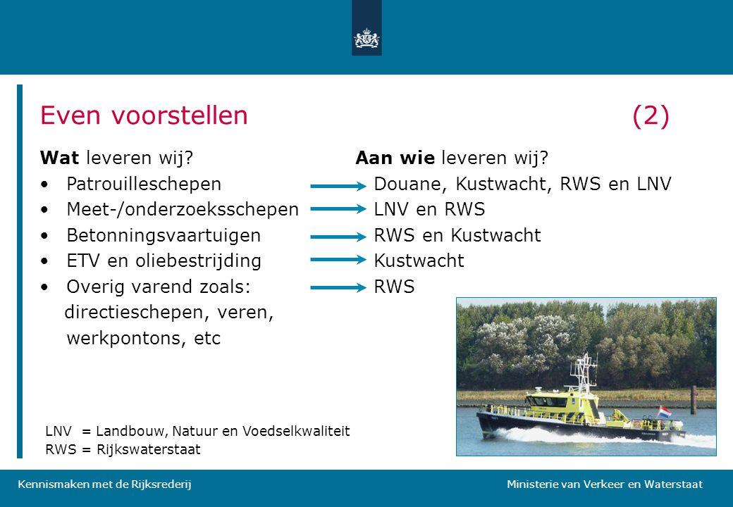Even voorstellen (2) Wat leveren wij Patrouilleschepen