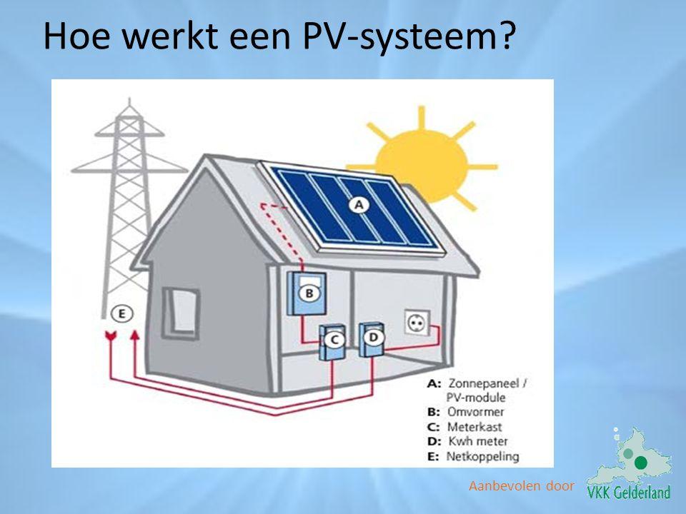 Hoe werkt een PV-systeem
