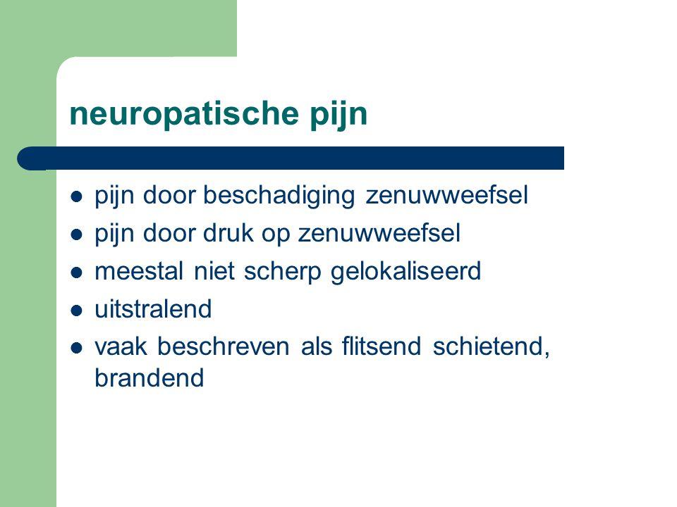 neuropatische pijn pijn door beschadiging zenuwweefsel
