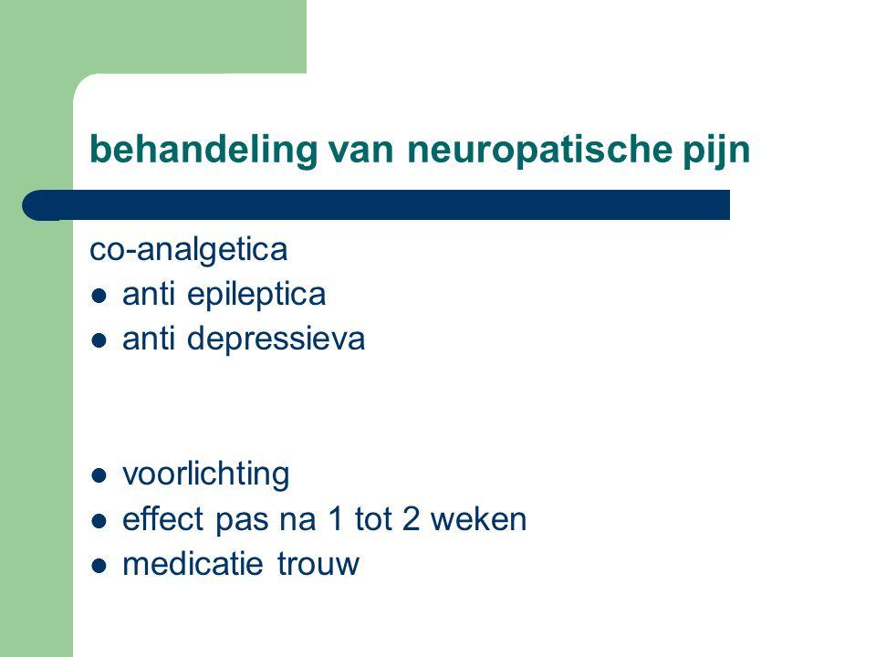 behandeling van neuropatische pijn