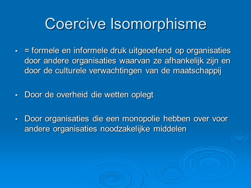 Coercive Isomorphisme