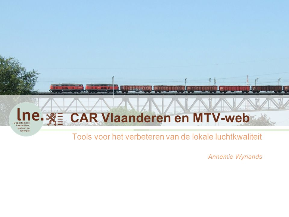 CAR Vlaanderen en MTV-web