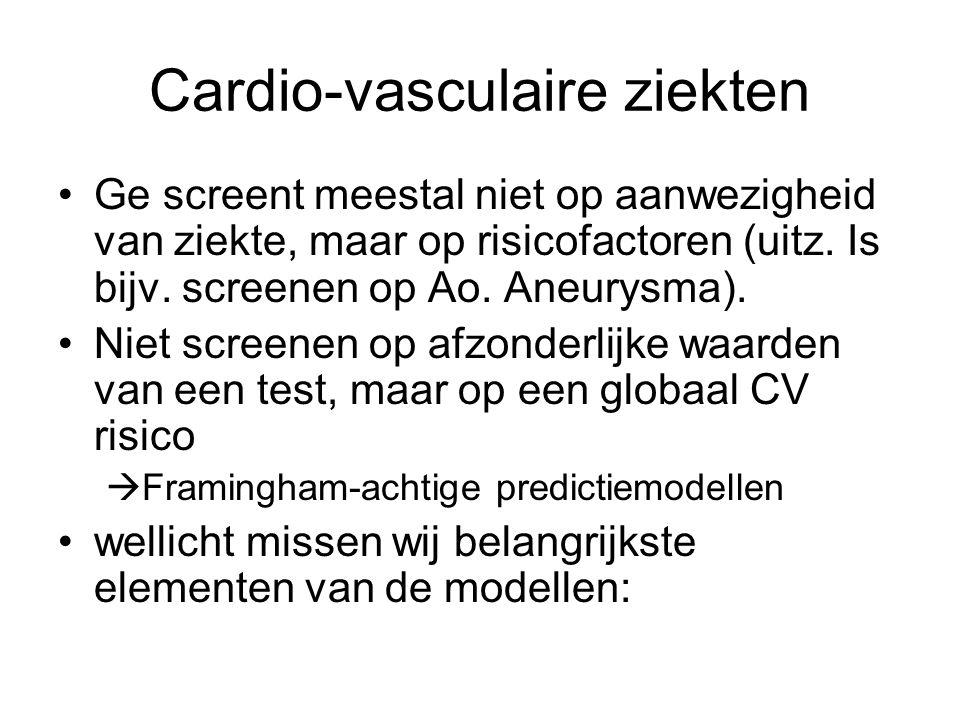 Cardio-vasculaire ziekten