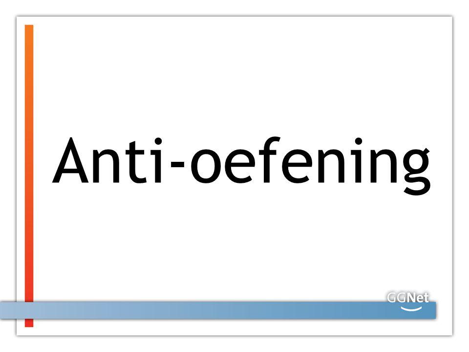 Anti-oefening
