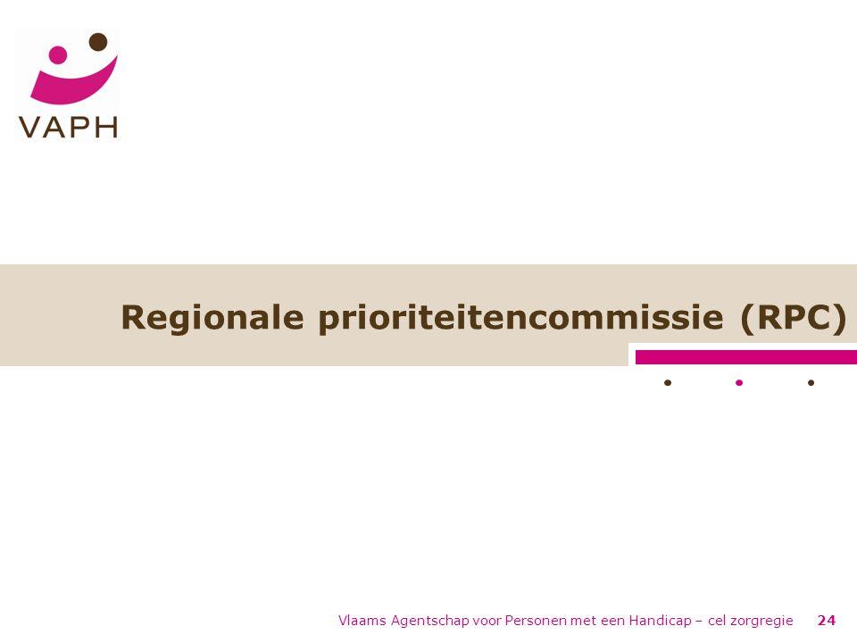 Regionale prioriteitencommissie (RPC)