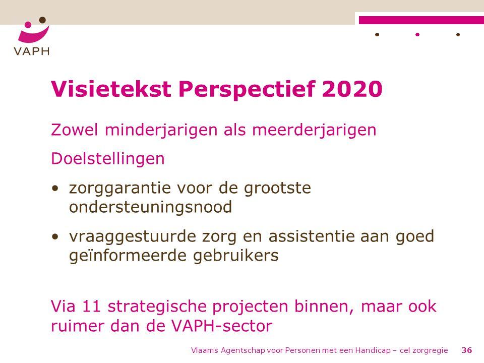 Visietekst Perspectief 2020