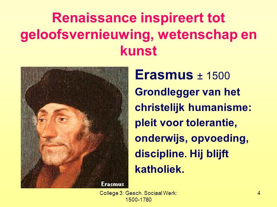 Renaissance inspireert tot geloofsvernieuwing, wetenschap en kunst